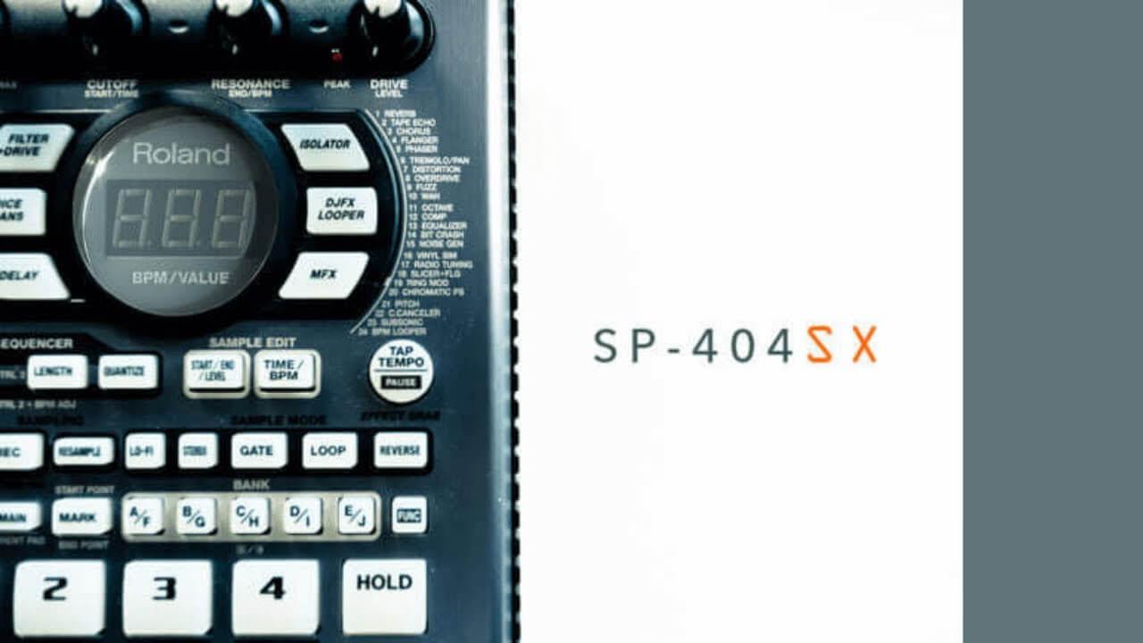 名機SP404(SX)を使いこなせ!<Part 1>
