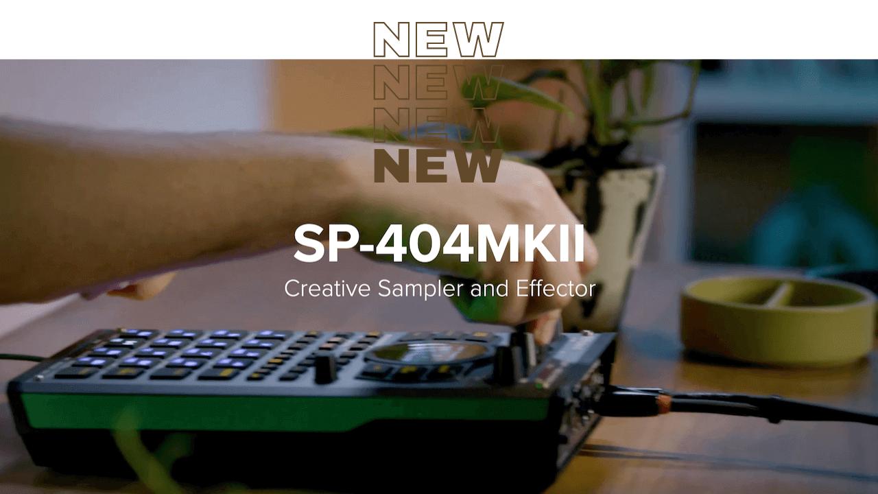 SP404 MK2が登場! モダンなサンプラーへ大革新。[SP404SX vs SP404 MK2]